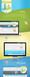 Whatsapp Wordpress Blog template by ElNoorOnline