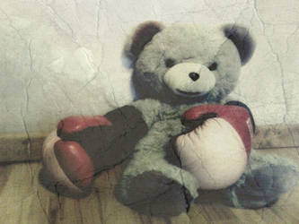boxing bear by deviantdependence