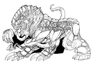 Crawler from Worm by Scarfgirl