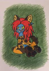 Chibi-Hyena-Zaj by Zarisou