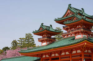 Heian-shrine by Tim-Wilko