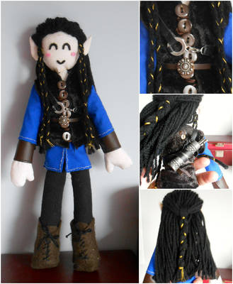 Fingon Plushie by QuantumPhysica