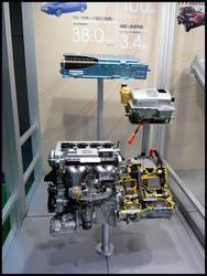 Prius hybrid engine by Aplos