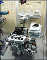 Harrier hybrid Engine by Aplos
