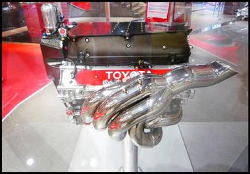 Toyota F1 engine by Aplos
