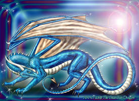 Cobalt: The Guardian Dragon by TheGuardianDragon
