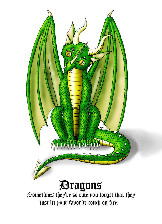 Dragons... by TheGuardianDragon
