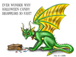 Dragons...Halloween Version by TheGuardianDragon