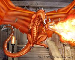 Fire Dragon by TheGuardianDragon