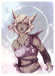 Young Nagali - [ Commission ] by Onyrica