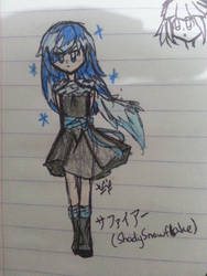 (2018 Render) Sapphire by VivianMiyuki123