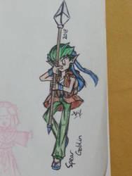 (2018 Render) Spear Goblin by VivianMiyuki123