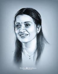 Trisha Krishnan by 8eliev3