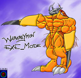 Wargreymon Exe_mode by Xvmon