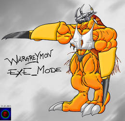 Wargreymon Exe_mode2 by Xvmon