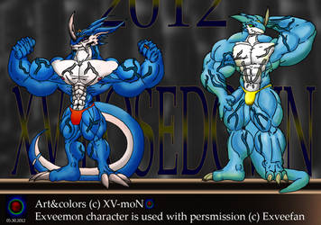 XV Posedown 2012 by Xvmon