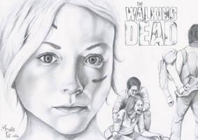 Beth in The Walking Dead by Pop-custom