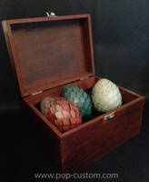 Dragon eggs, Game Of Thrones by Pop-custom