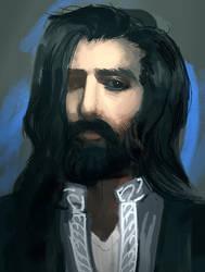 Anebarone-self-portrait-as-man by PygmyGoats