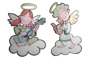aniolki by Wioch-Men