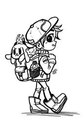 Trainer-LINEART by sat-s