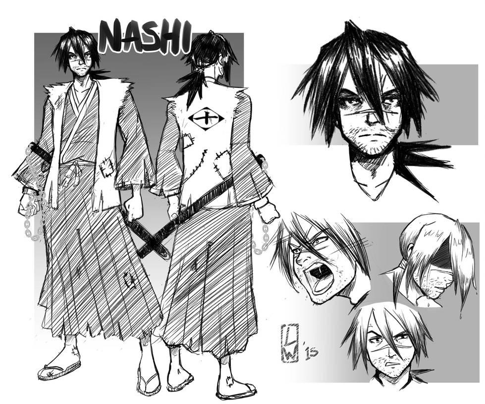 Nashi Desing +Commission+ by LadyWyrm