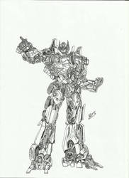 Optimus Prime Movie by TheoldKup96