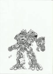 Ironhide Movie by TheoldKup96