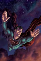 Superman Colored by PatC-14