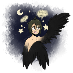 A cute Yams Harpy by Dark-Line-Adopts