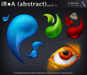 iR-A -abstract- pack 1 PNG by dgarte
