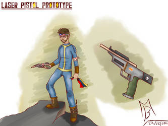 Fallout laser pistol prototype by hunk17