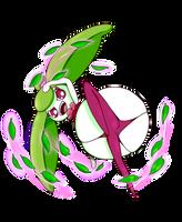 Steenee uses Magical Leaf by MasterImpsy
