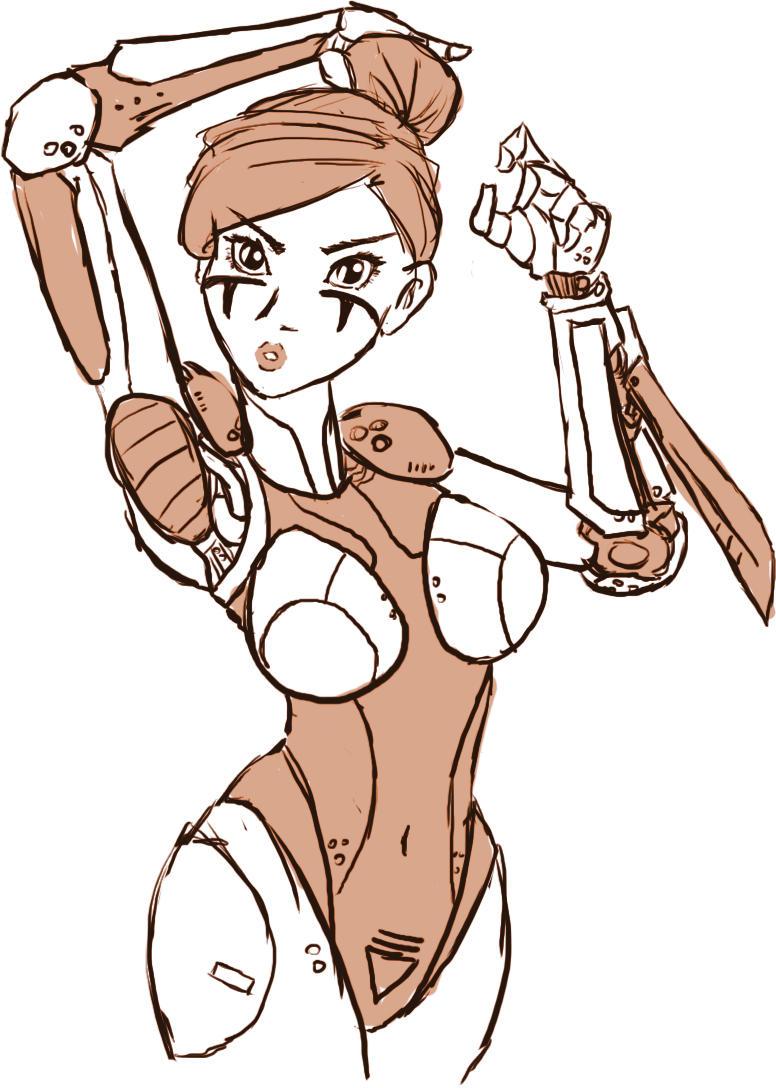 Battle Angel Tiala by samutoka