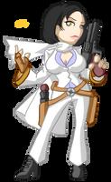 Valerie the Gunslinger by samutoka
