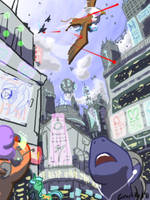 The Chase by samutoka