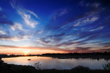lagoon sunset 1 by doverby