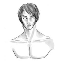 Sketchy sketch man by I-eat-lemons