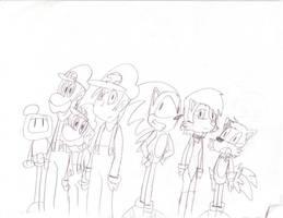 Video Game Group by Jim-Nickabocker