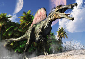 Spinosaurus - TIME WARS by Nytcrawler