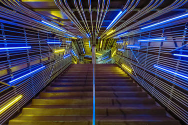 Neon Steps by space1999