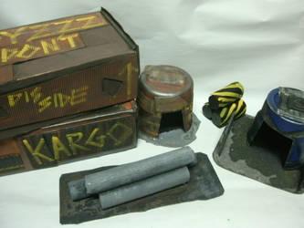 Ork Terrain Lot by raipo