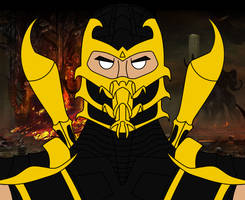 Scorpion Mugshot by LoneCarbineer