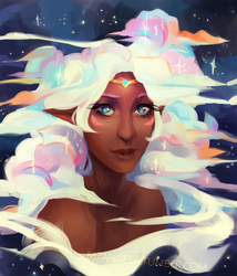 Cloudy Allura by m-angela