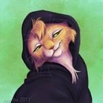 Soldjagurl Portrait 2 by Amritha