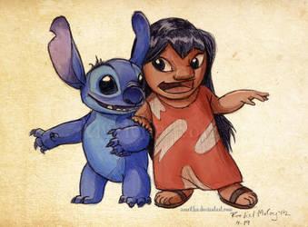 Lilo and Stitch by Amritha