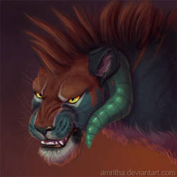 iKomainu Portrait by Amritha