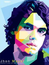John Mayer in WPAP by NealWDart