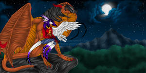 Collab: Magical Night by Vampyra-Drake