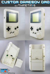 White inside Clear gameboy by Thretris